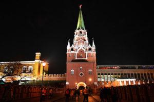 По мнению ФАС торги за право подсвечивать здания у Кремля прошли с нарушениями